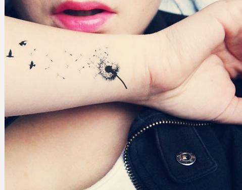 Dandelion tat
