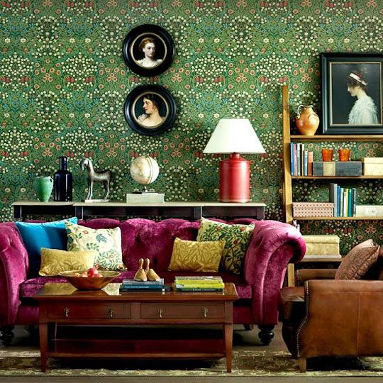 Blackthorn from William Morris, as seen on House & Home