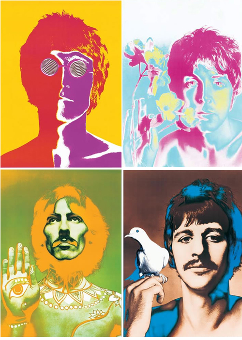 Beatles poster Art
